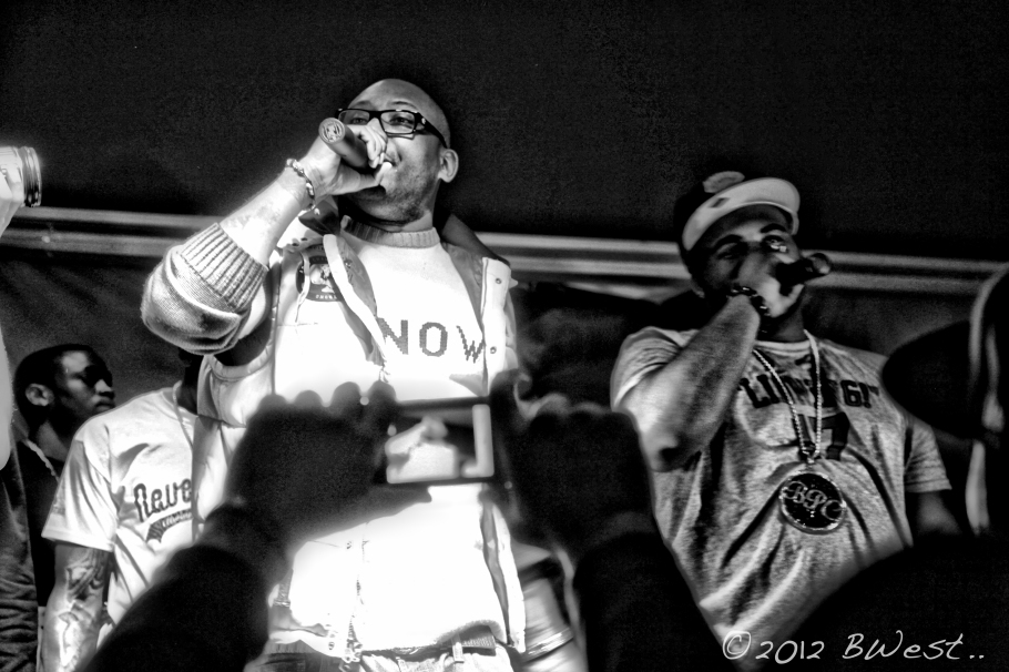 Maino Push East New York rap concert