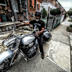 motorcycle Drty Slvr Denim New York