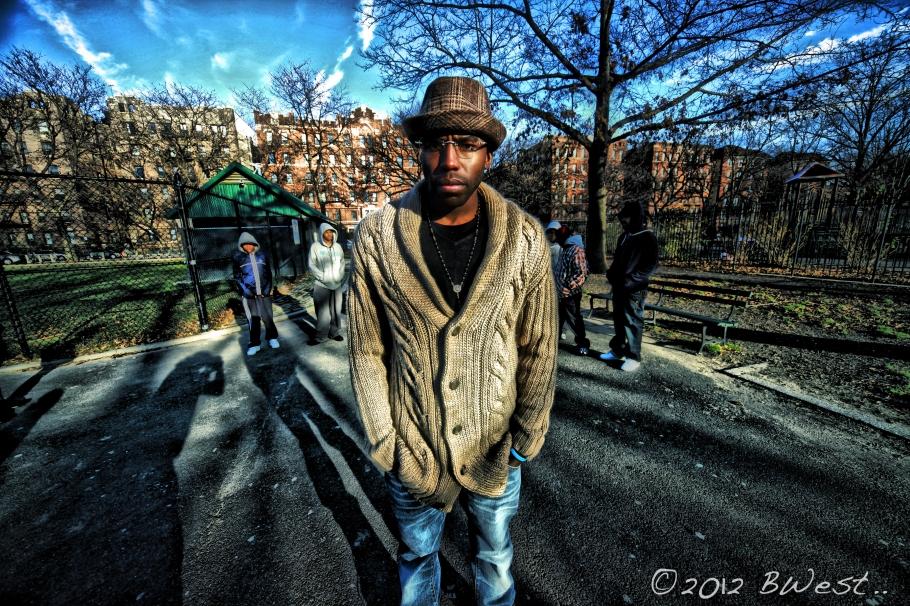 Brooklyn Rapper WinkLoc video shoot Park