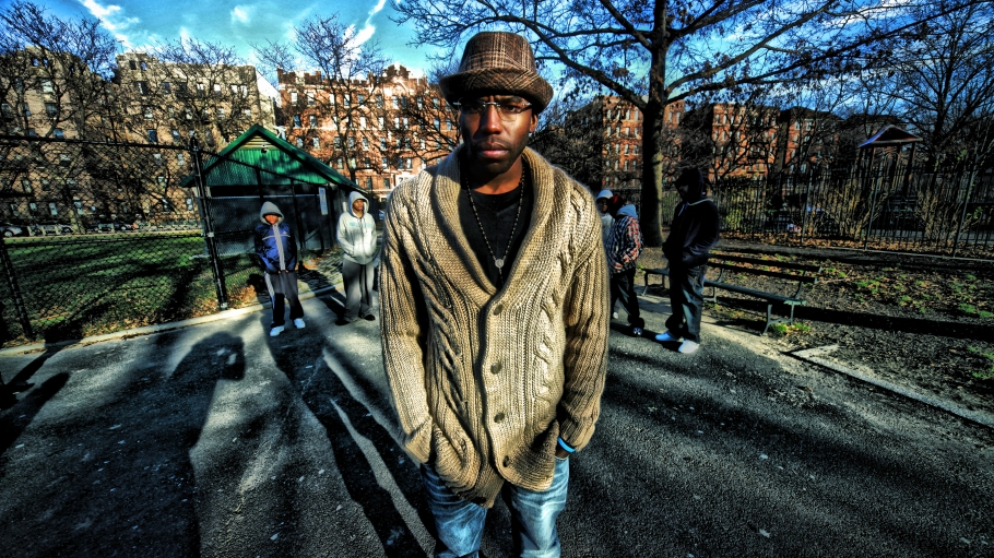 Brooklyn Rapper WinkLoc video shoot Park
